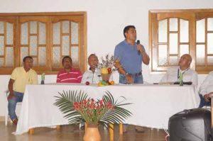 Lanzamiento del Esquema BanCo2 en el departamento de Guainía. Foto: Gobernación de Guainía.