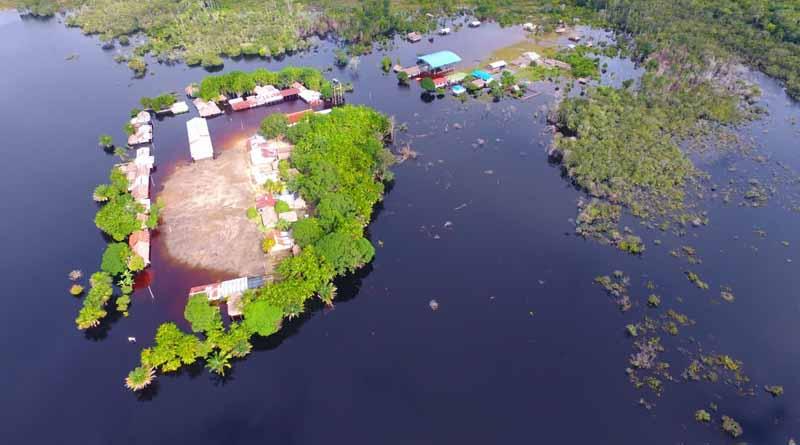 Guainía bajo el agua: se declara la calamidad pública en el Departamento