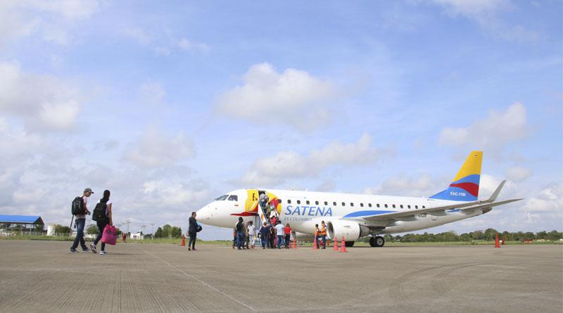 Regresan los vuelos comerciales a Puerto Carreño