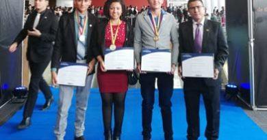 Cuatro vichadenses estuvieron presentes en la premiación de 'La Noche de Los Mejores'