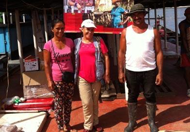 Familias en Guainía recibieron elementos para negocios