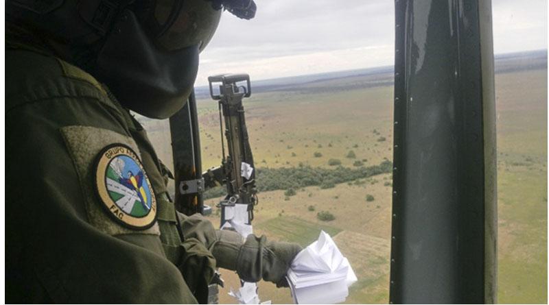 A que se desmovilicen, es el llamado de la Fuerza Aérea a grupos armados en Vichada y Guainía