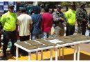 Tres capturados y un cargamento de marihuana incautado en la Inspección de Casuarito, Vichada