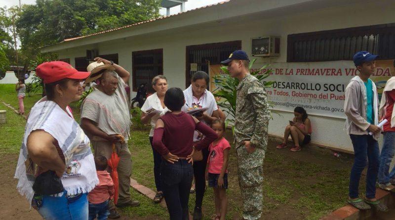 750 personas fueron beneficiadas con servicios médicos en La Primavera