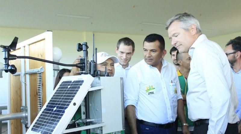 Se firma convenio para creación de un ecosistema sostenible alrededor de las energías renovables en Puerto Carreño