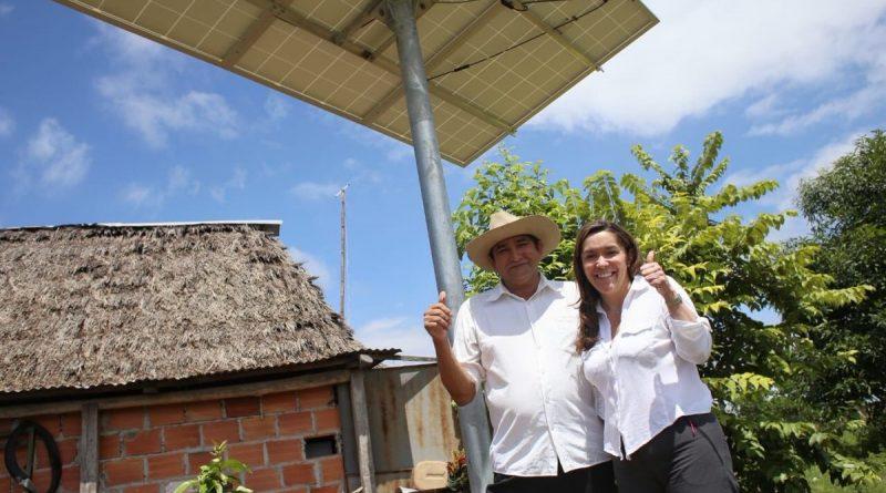 650 plantas solares iluminarán las zonas rurales del Vichada: Ministra de Minas y Energía