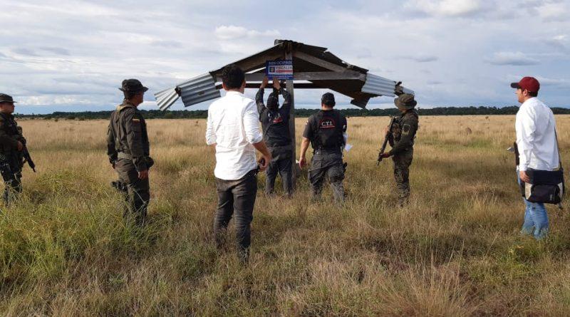 Aplican extinción de dominio a más de 1.721 hectáreas en Vichada