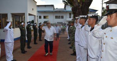 Así se conmemoró en Vichada el día de los veteranos de la Fuerza Pública