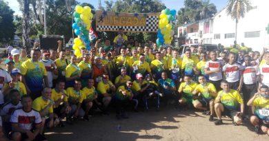 Con éxito se llevo a cabo la Carrera 5k y 10k organizado por la Policía Nacional en Puerto Carreño