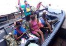 Ciudadanos venezolanos deportados por autoridades desde Inírida