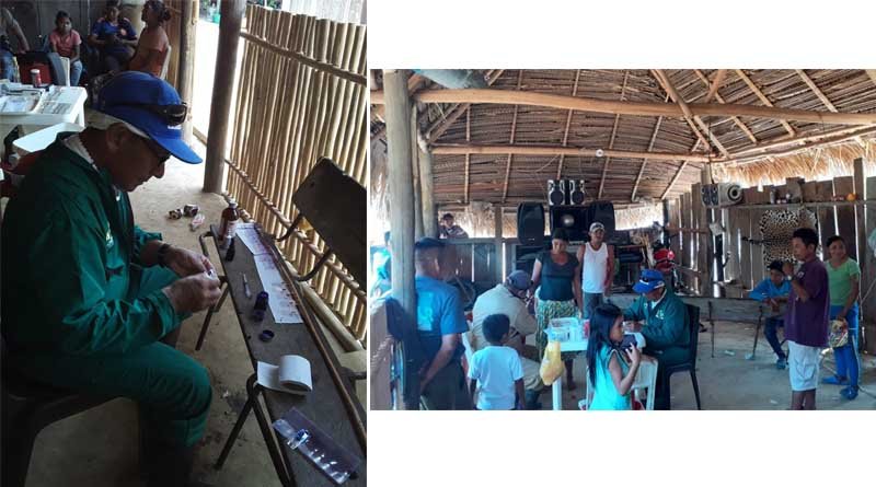 Continúa preocupación por epidemia de paludismo en la Selva de Matavén