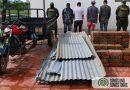 Cuatro personas capturadas en el municipio de La Primavera por delito de hurto