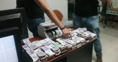 Millonaria incautación de dinero en el aeropuerto de Inírida