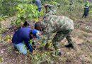 El Ejército Nacional realizó una jornada ambiental en Inírida