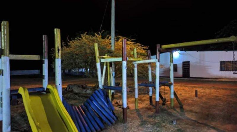 Parque peligroso en Puerto Carreño
