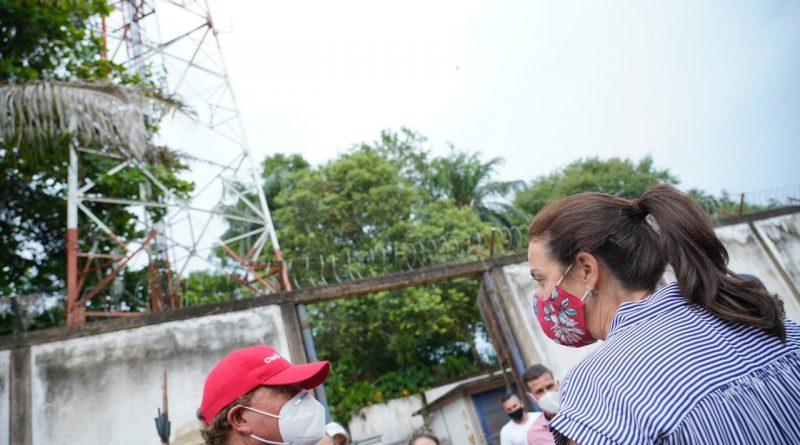 En Vichada, pero sin pasar por Puerto Carreño, terminó la primera Expedición de la Conectividad realizada por la ministra de las TIC