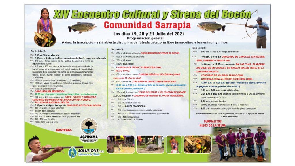 Inició en Sarrapia el 'Encuentro cultural y Sirena del Bocón' | Noticias de Buenaventura, Colombia y el Mundo