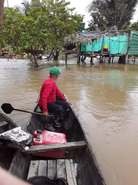 Amanavén, Puerto Nariño y Acapulco: inundados y pidiendo ayuda - Noticias de Colombia