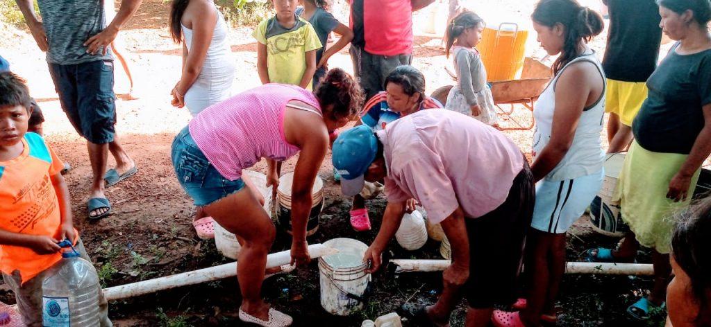 Los indígenas que piden agua a gritos - Noticias de Colombia