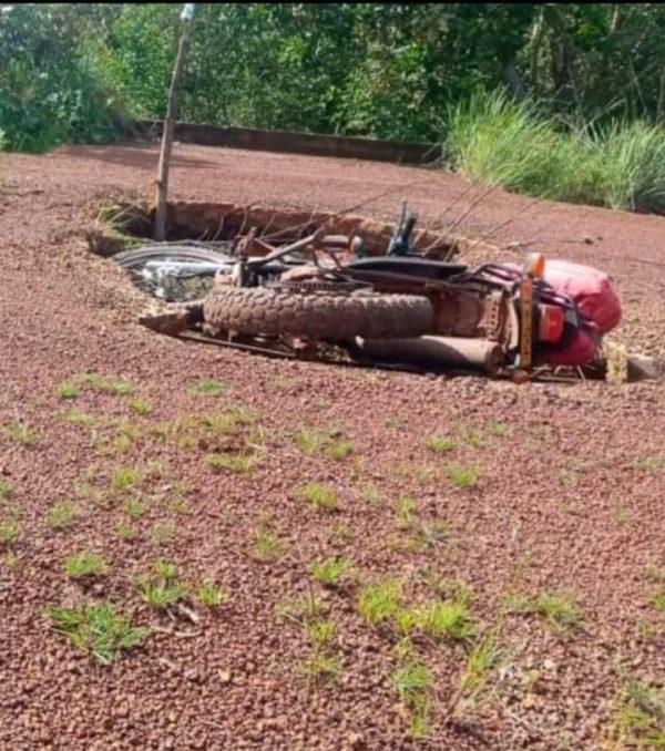 'Trampa mortal' en vía hacia zona rural de Puerto Carreño - Noticias de Colombia