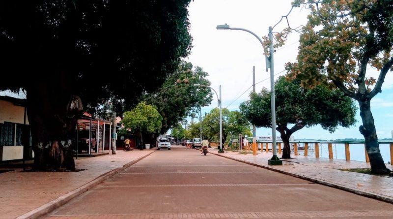 Denuncian fallas en alumbrado público en el sector del puerto, en Puerto Carreño