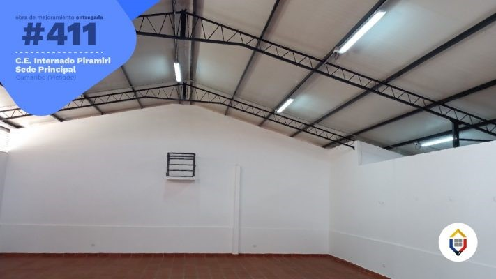 Renovaron el internado de Piramiri en Cumaribo